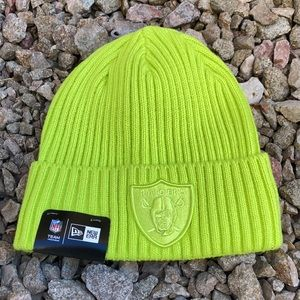 Raiders New Era Neon Beanie